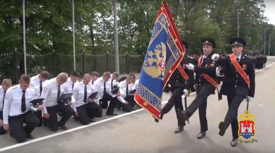 Скриншот видео пресс-службы УМВД по Калининградской области