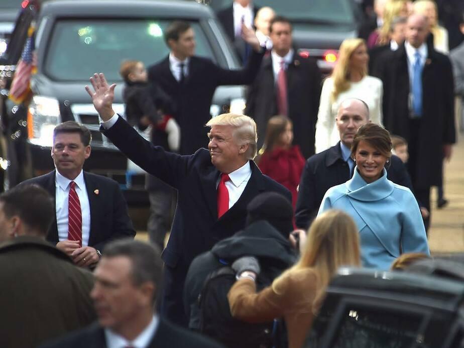 Фото с официальной страницы президента США в Facebook