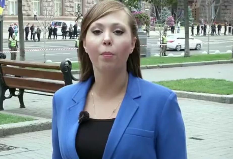 Кадр видео Первого канала