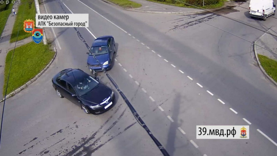 """Фото: кадр из видеозаписи """"Безопасного города"""""""