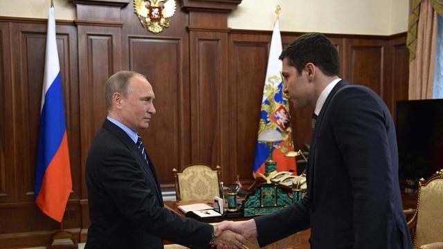 Опубликована стенограмма встречи Путина с и.о.губернатора Калининградской области Алихановым