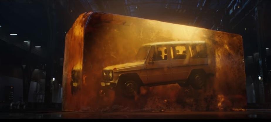 Кадр из рекламы Mercedes-Benz G-Class