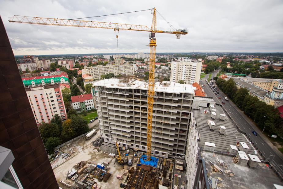 В Калининградской области за год построили 1700 жилых домов