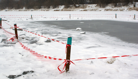 В Черняховском районе нашли тело восьмилетнего мальчика, упавшего в прорубь