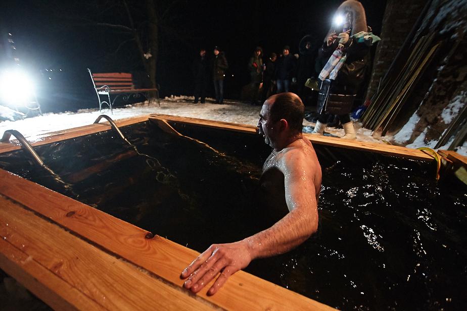 МЧС: крещенские купания в Калининградской области прошли без происшествий