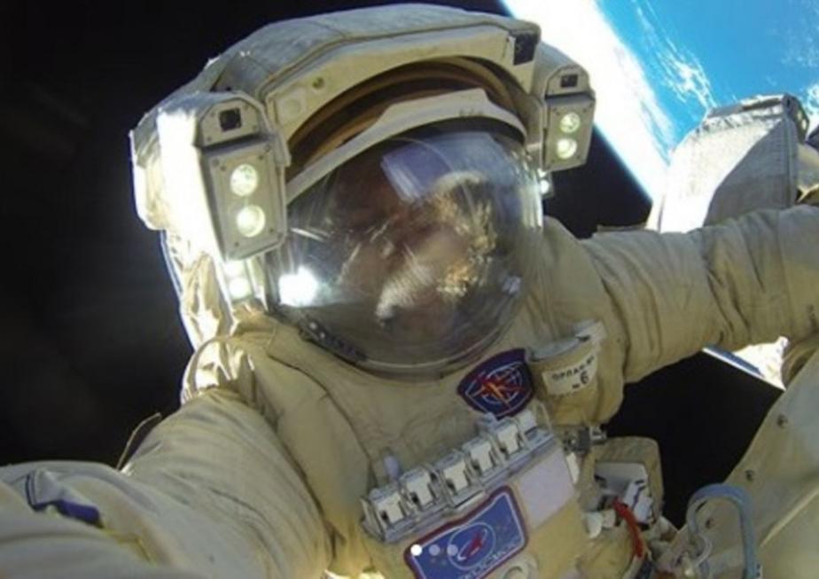 Российский космонавт сфотографировал с земной орбиты обмелевшее Аральское море
