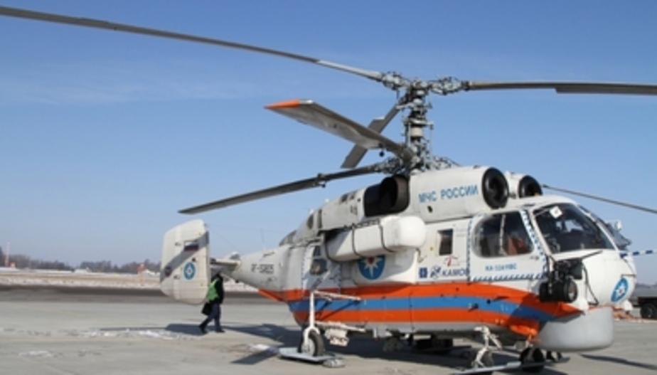 Выход на лёд опасен: в Калининградской области МЧС проверило с вертолёта состояние водоёмов