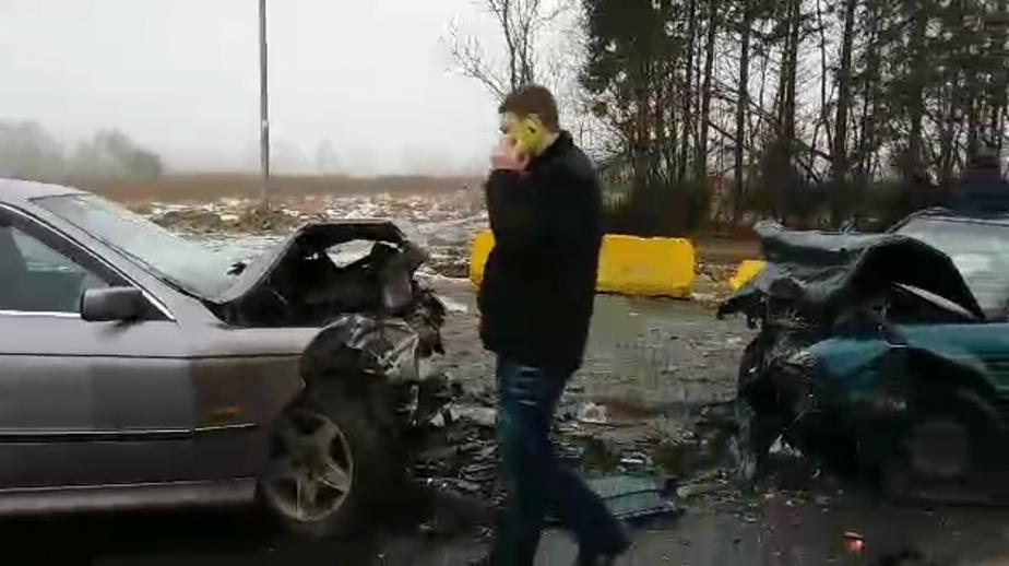 Кадр из видеозаписи очевидца