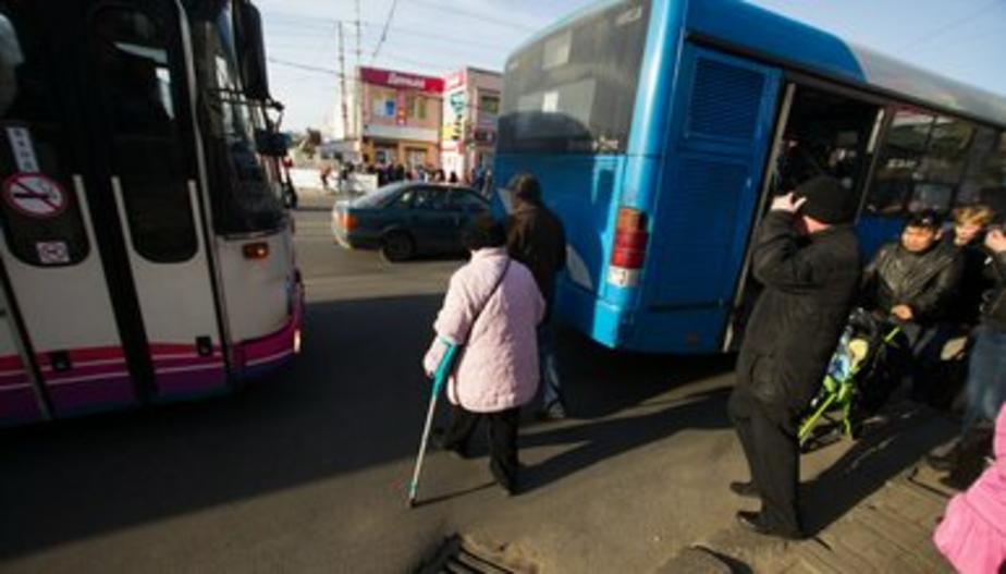 В Калининграде в день выборов организуют дополнительный автобусный рейс