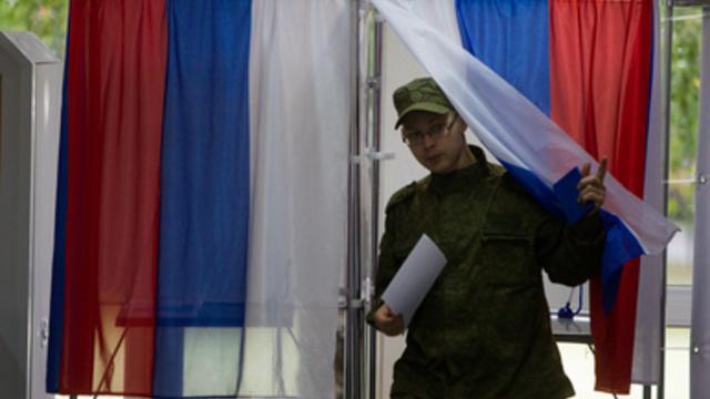 В России закрылись все участки для голосования на выборах президента РФ