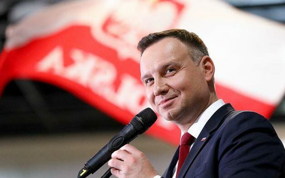 На фото Анджей Дуда / Фото с официального сайта президента Польши