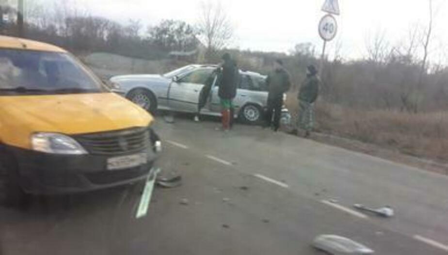 ДТП под Борисово спровоцировало пробку в несколько километров