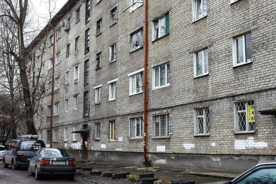 """На фото дом на ул. Партизанской / Фото: """"Клопс"""""""