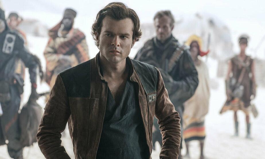 """Кадр из фильма """"Хан Соло. Звёздные войны: Истории"""""""