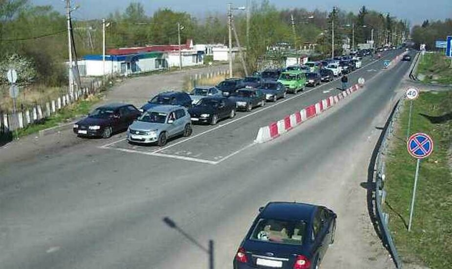 Фото: веб-камера на пункте погранперехода