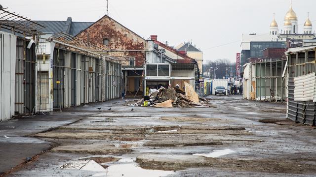 Гольдман: На месте снесенных торговых рядов Центрального рынка будет деревня викингов и площадка для стритфуда