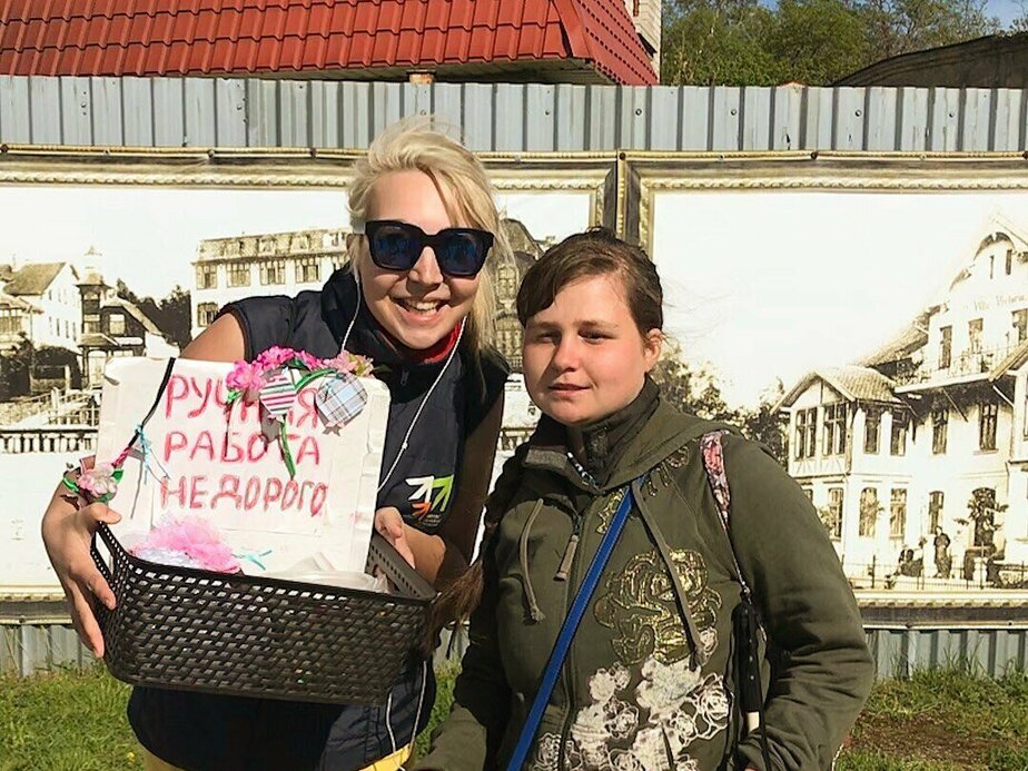 В Калининграде слепой каратистке собрали средства для поездки на чемпионат в Сербию