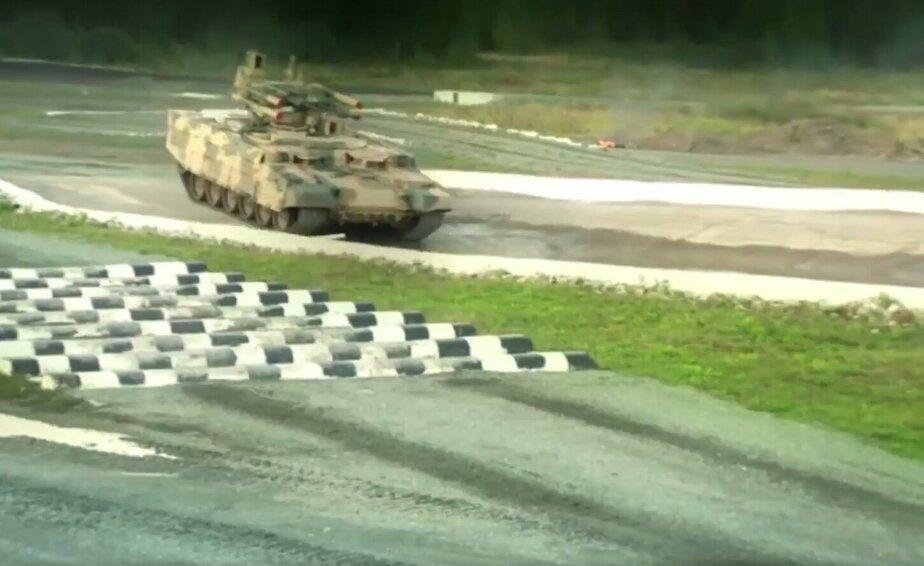 Кадр видеозаписи Министерства обороны РФ
