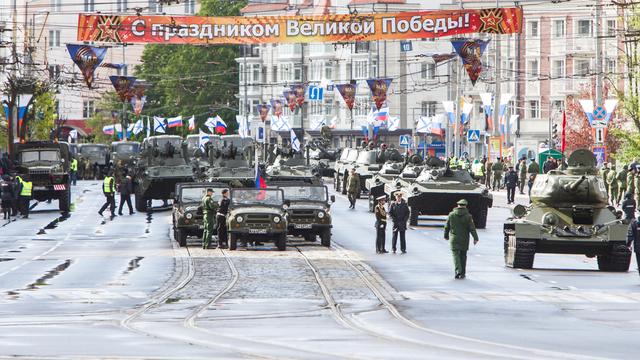 Парад Победы в Калининграде 9 мая 2018 года (видео)