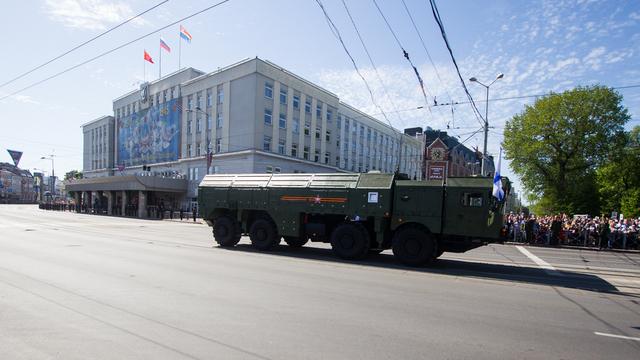 На Параде Победы калининградцам показали новинки военной техники