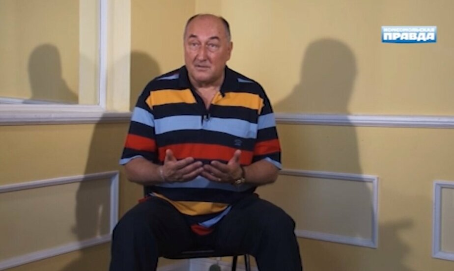 """Кадр видеозаписи """"Комсомольская правда"""""""