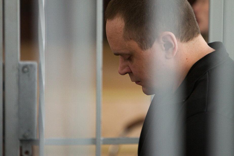 """На фото Сергей Кривченко в суде / Архив """"Клопс"""""""