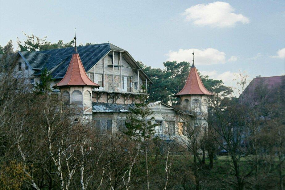 """Отель """"Дюна /  Фото: общественная организация """"Прусское наследие"""""""