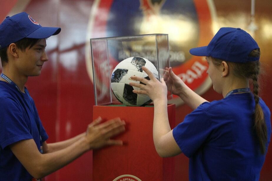 Школьник из Советска вынесет официальный мяч ЧМ-2018 на одном из матчей