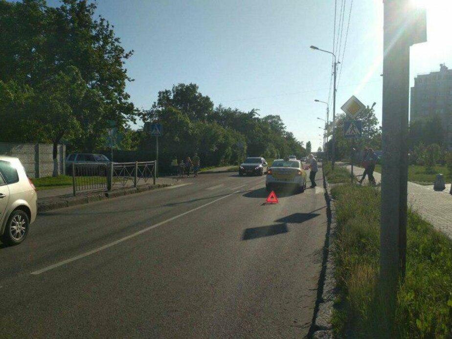 В Калининграде на пешеходном переходе на ул. Борзова сбили подростка