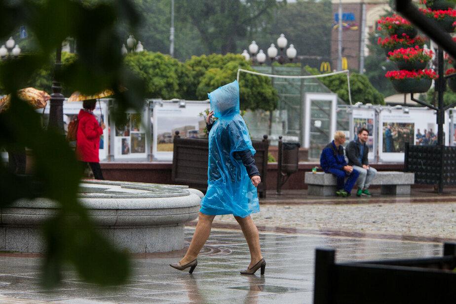 На выходных в Калининградской области возможны ливни и грозы