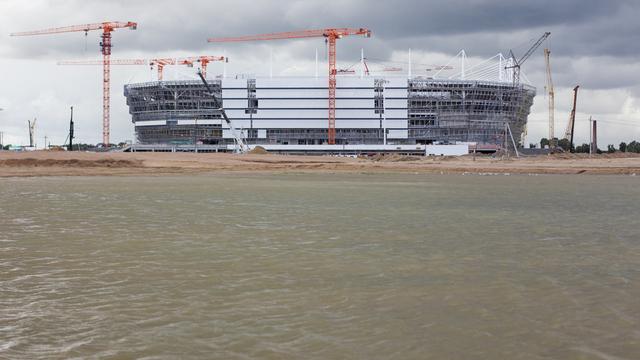 Завершено расследование уголовного дела о хищениях при строительстве стадиона