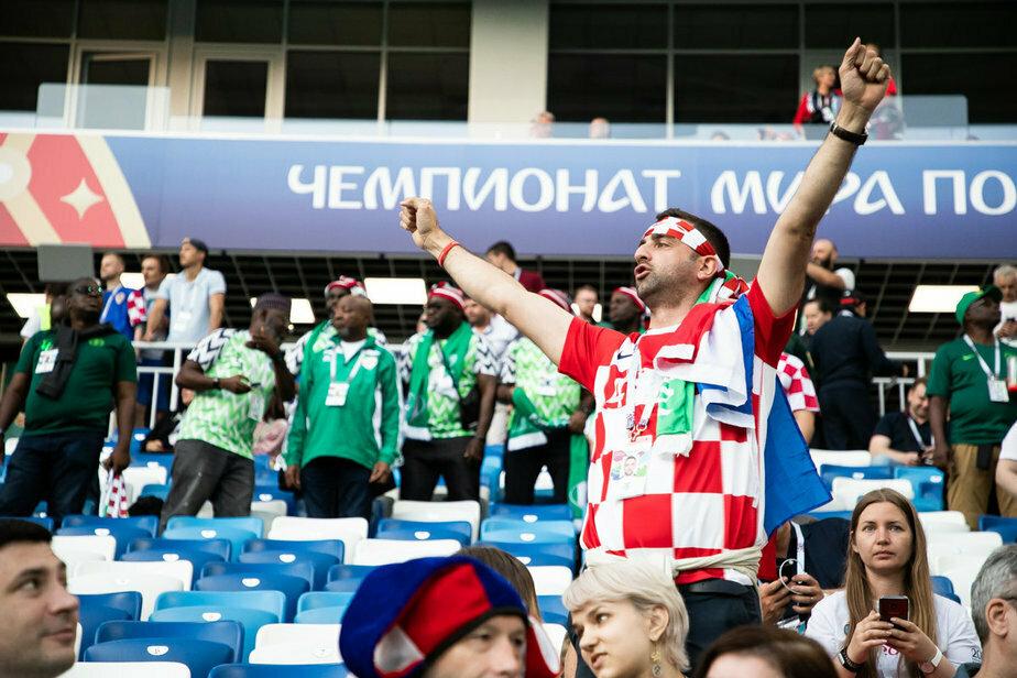 FIFA предупредила хорватов за националистический баннер на стадионе в Калининграде