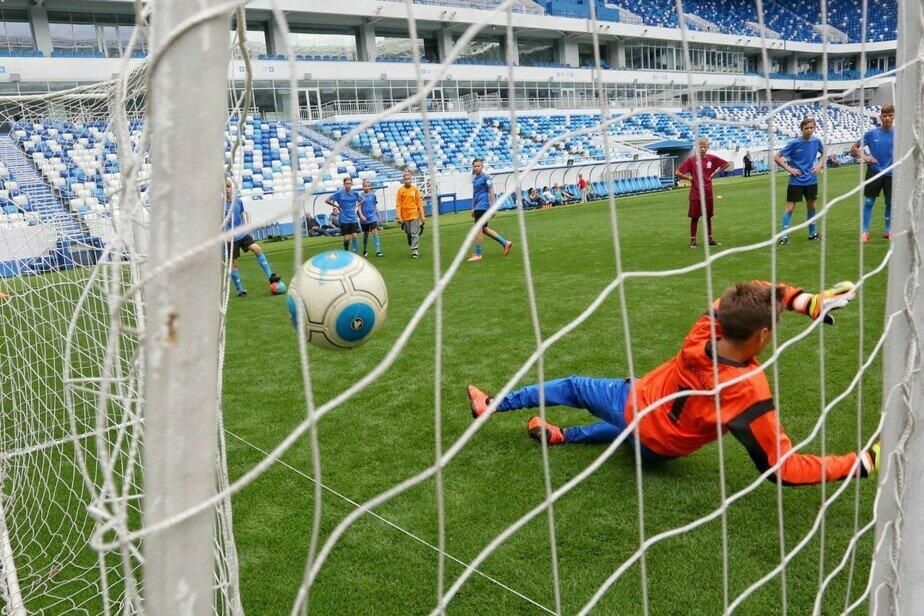 """На стадионе """"Калининград"""" прошли мастер-классы для воспитанников спортшкол"""