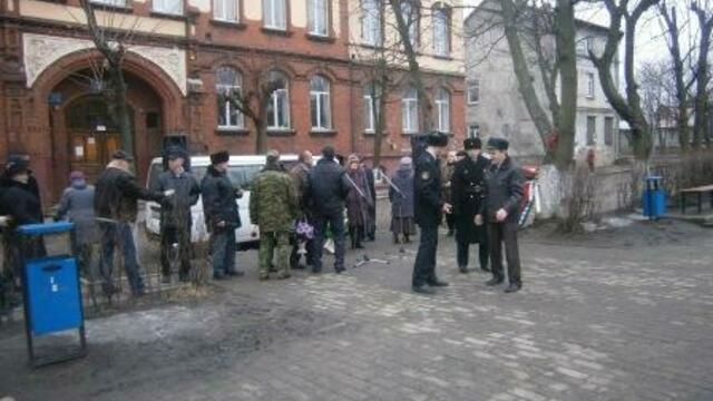 В Черняховске открыли памятник воинам-интернационалистам