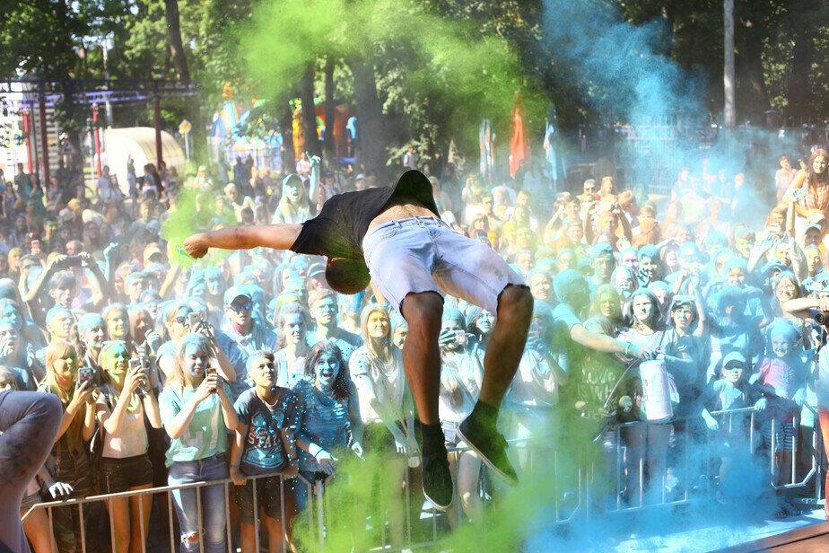 Как в Калининграде отмечают День города (фоторепортаж)