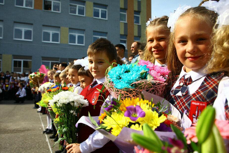 В Калининградской области проходят первые звонки