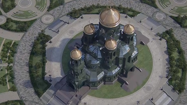 В России на строительство храма Вооружённых сил собрали более миллиарда рублей