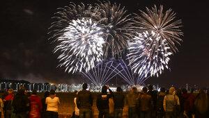 Burito и десятки тысяч залпов: в Калининграде прошёл заключительный день мирового чемпионата фейерверков