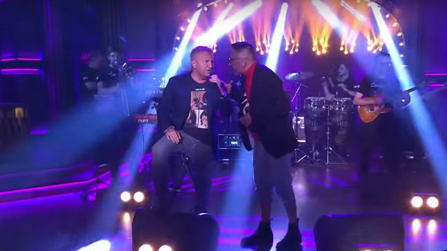 Сергей Шнуров представил совместную песню с Леонидом Агутиным (видео)