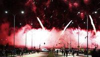 Мировой чемпионат фейерверков посетило 50 тысяч зрителей