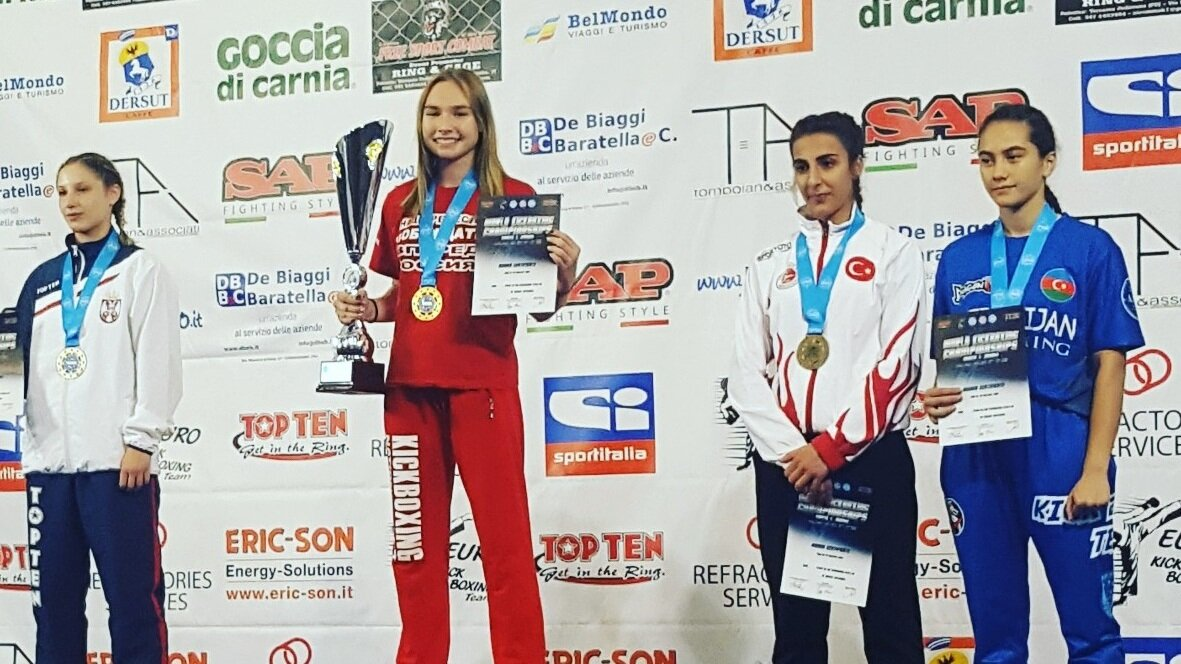 Калининградка выиграла первенство мира по кикбоксингу