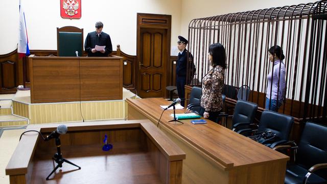 Видео из зала суда, где арестовали и.о. главврача роддома №4