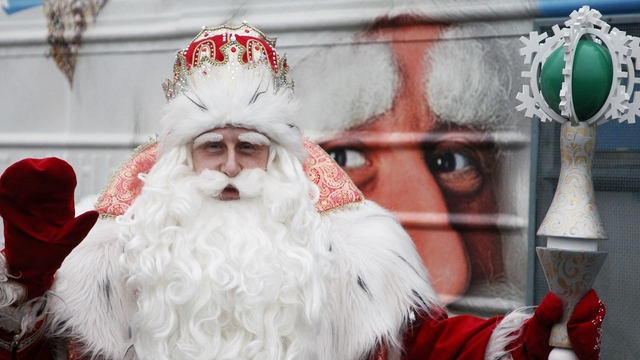 Дед Мороз пожелал Путину на Новый год сил и уверенности
