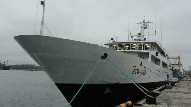 Балтийский флот принял на вооружение новейший катер связи