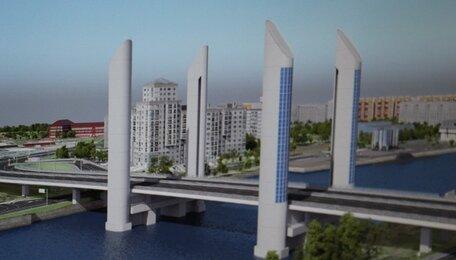 В Калининграде двухъярусный мост демонтируют и заменят двумя новыми