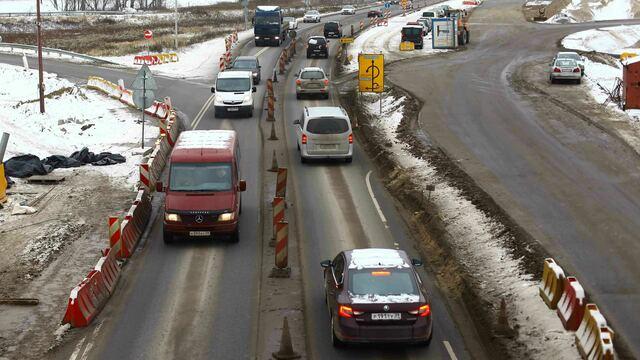 Рольбинов: После реконструкции развязки на Невского исчезнут  пробки