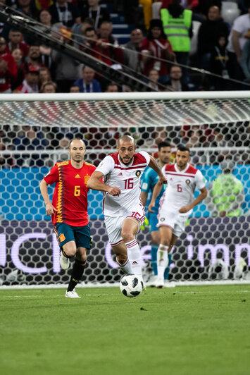 "Матч Испания — Марокко 25 июня | Фото: Александр Подгорчук / ""Клопс"""