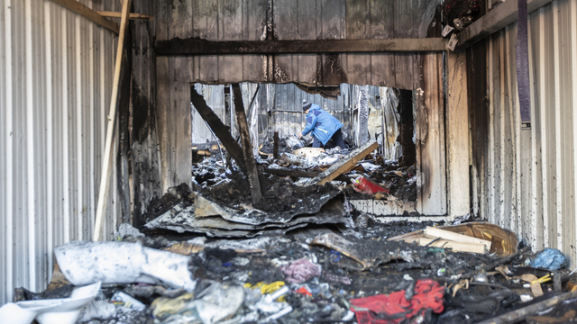 Люди были в пламени, огнетушители не помогли: как горел рынок