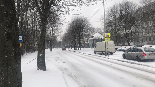 """В  """"Чистоте"""" рассказали, какие калининградские улицы в первую очередь чистят от снега"""