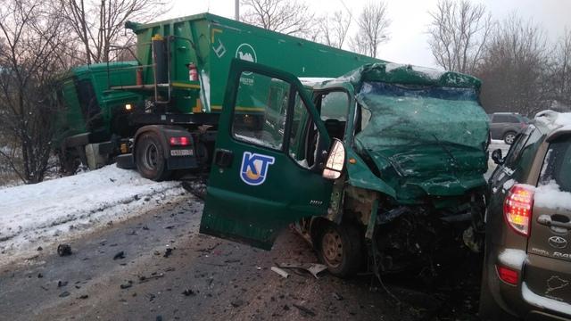 На ул. Суворова произошло тройное ДТП, есть пострадавшие (фото)